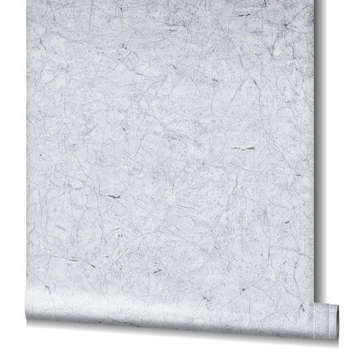 Non-Woven Wallpaper Cracks Plaster grey 32803