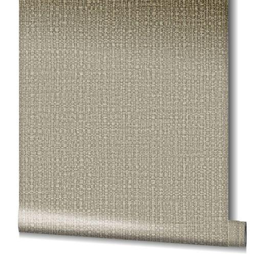 Tapete Vlies Bast-Struktur Metallic beige 32810