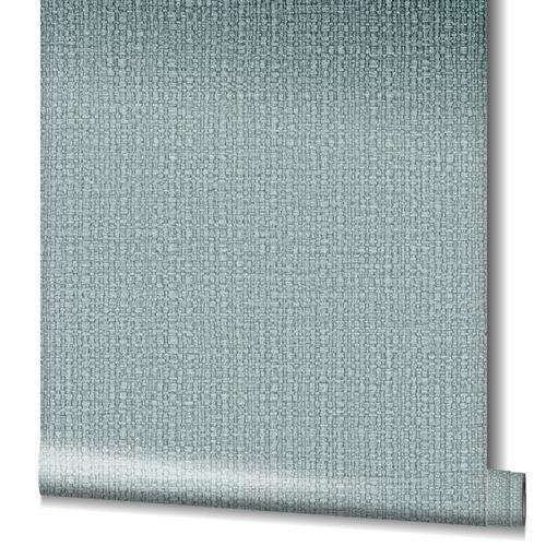 Tapete Vlies Bast-Struktur Metallic silber 32811