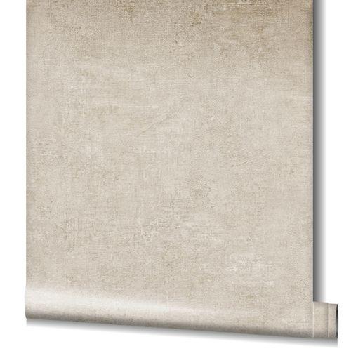 Non-Woven Wallpaper Plain Structure grey-beige 32831