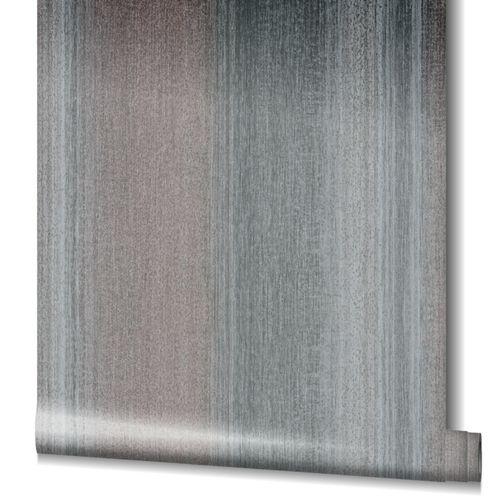 Tapete Vlies Gestreift Struktur Glanz violett grau 32836