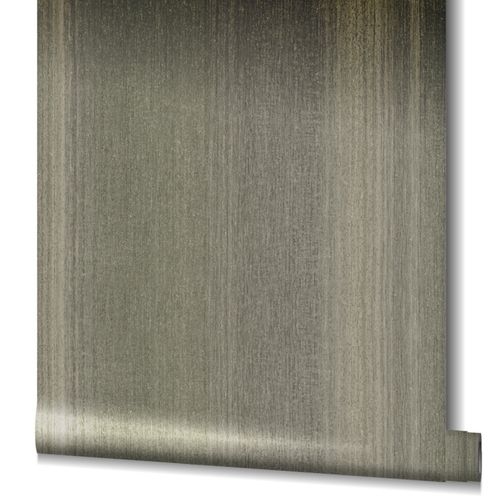 Non-Woven Wallpaper Stripes Strture gloss grey 32837