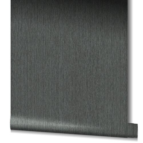 Tapete Vlies Gestreift Struktur schwarz 32843