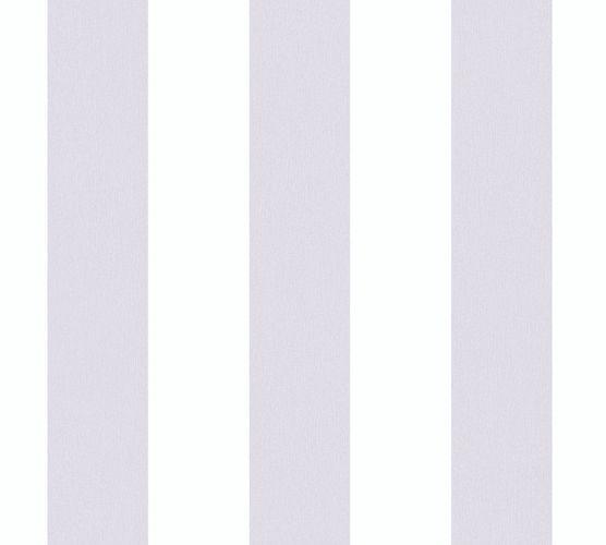 Vliestapete Kinder Blockstreifen grau weiß 38148-4