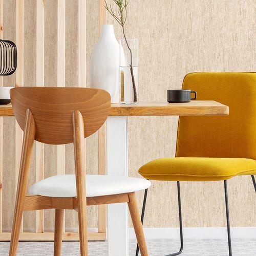 Vliestapete Muster Natur Holz beige braun 10210-02