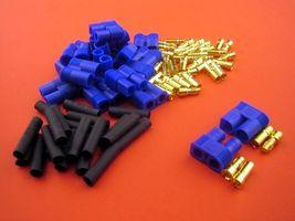 EC3 3,5mm Goldstecker mit Hülse 1 Paar