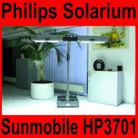 Solarium Philips Sunmobile HP 3701 Homesun Sonnenbank Ausstellungstück
