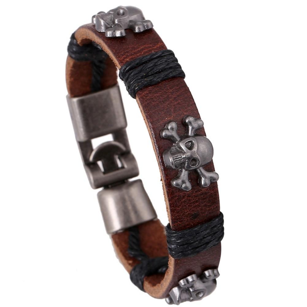 Armband Herren Damen Leder Surferarmband Flecht Lederarmband Löwe Herrenarmband