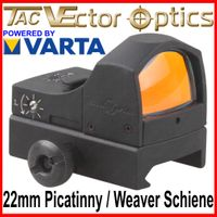 VECTOR OPTICS  SPHINX  Rotpunkt RedDot (DOC-Style) Visier Zieloptik für 22mm Picatinny / Weaver Schiene