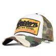 "Baseball Cap ""Western"" Camouflage Basecap Mütze Baseballcap Kappe Unisex Vintage Mesh Trucker"
