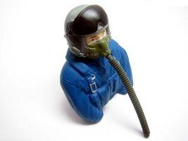 Piloten-Figur Jet Pilot 1/6 -77x35x76