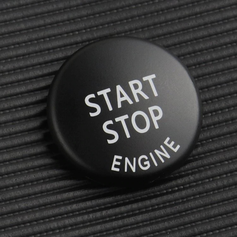 Overdrive-Racing Startknopf Start Stop Knopf Schwarz