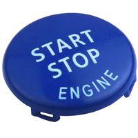 Overdrive-Racing Startknopf Start Stop Knopf Blau Ersatz Passend Für 3er E90 E91 E92 E93 5er E60 E61 Z4 E89 X1 X3 X5 X6