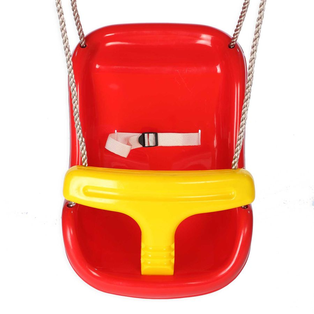 Schaukelsitz mit Sicherheitsbügel und Sicherheitsgurt für Kleinkinder bis 3 Jahre