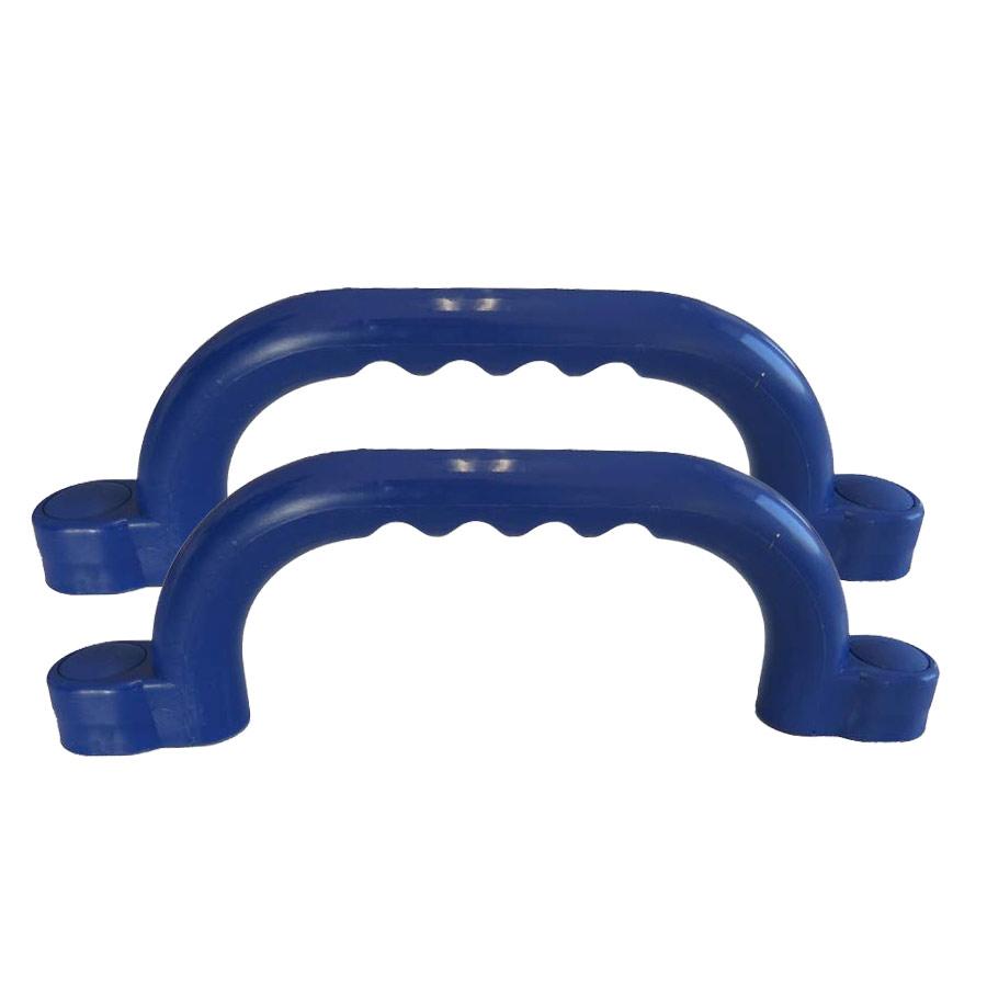 Haltegriffe für Spielturm Farbe blau Set mit 2 Stück