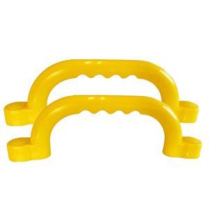 Haltegriffe gelb für Spielturm Set mit 2 Stück Handgriffe