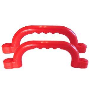 Haltegriffe für Spielturm Set mit 2 Stück rot