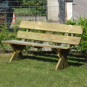 Sitzgruppen aus holz - Gartenbank dekorieren ...