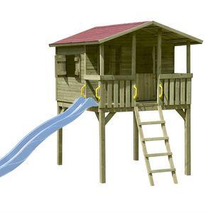 Stelzenhaus Spielhaus Tom