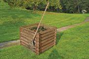 Holzkomposter mit Stecksystem