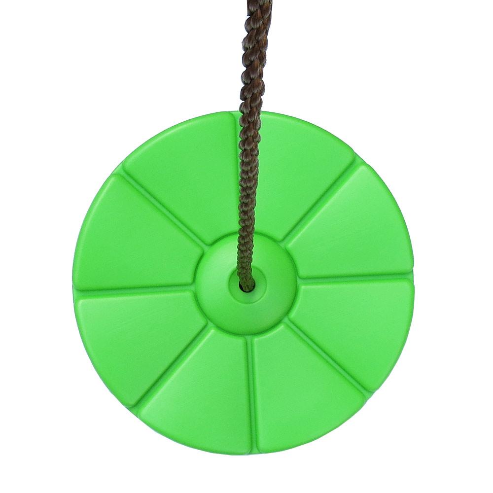 Tellerschaukel Kunststoff Farbe apfelgrün