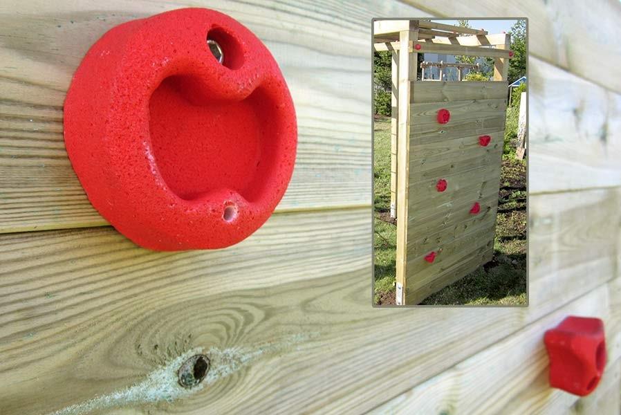 Klettergerüst Reck : Kinder klettergerüst holz premium mit kletterwand kletternetz von