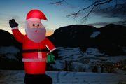 Weihnachtsmann 180 cm beleuchtet