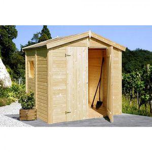 Gerätehaus Dan 4,6 m² aus Holz 243 x 190 cm