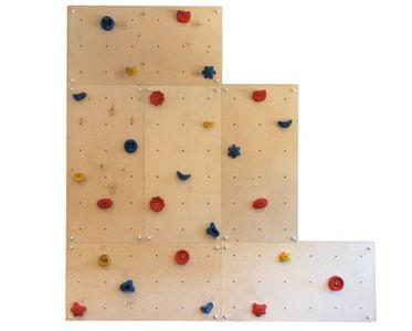 Indoor Kletterwand IW6 mit 25 Griffen