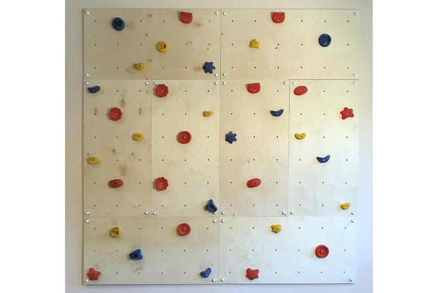 9525719bc0e6dd Indoor Kletterwand IW8 (BxH) 240 x 240 cm (5