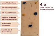 Wandplatten ZIW4 für Indoor-Kletterwand 2,88 m²