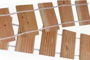 Holztritte aus Lärche