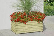 Holzpflanzkasten rechteckig