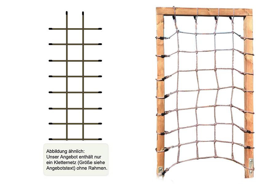 kletternetz 200 x 75 cm maschenweite 25 x 25cm f r spielturm kletterger st usw. Black Bedroom Furniture Sets. Home Design Ideas