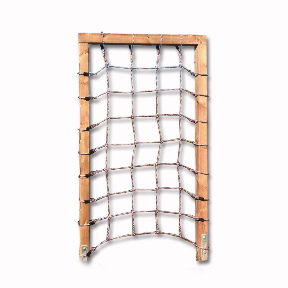 Kletternetz aus Seilen für Rahmen Höhe 200 cm x Breite 150 cm, Maschenweite 25x25cm