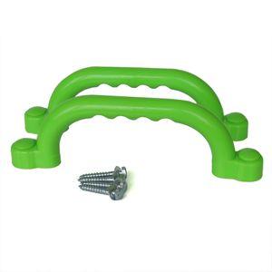 Haltegriffe für Spielturm Farbe apfelgrün