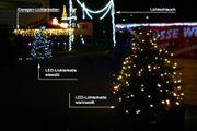 Dekorationsbeispiel LED Lichterkette für außen
