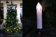 Kerzen-Lichterkette für innen oder außen