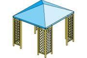 Skizze Pavillon