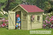 Spielhaus Marie-Fun Spielhaus 150 x 120 cm aus Holz
