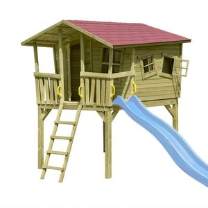 Stelzenhaus Spielhaus Tom Fun