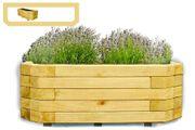 Wandpflanzkasten aus Holz imprägniert