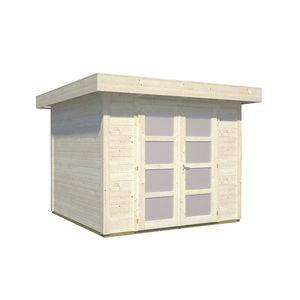 Gartenhaus Lara 6,0 m² mit Flachdach 250 x 250 cm