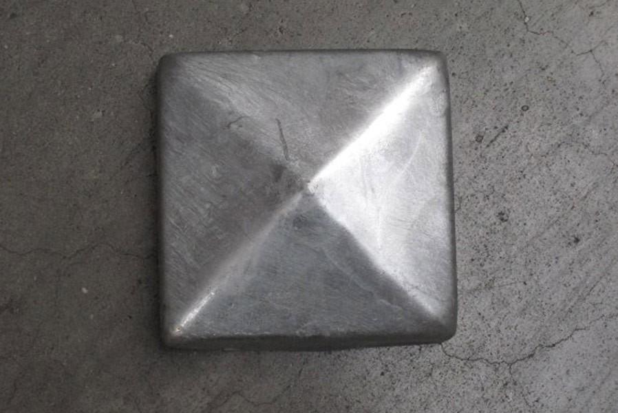 Klettergerüst Pyramide : Pfostenkappe in form einer pyramide 91x91mm