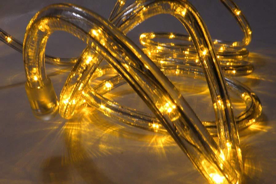 led lichtschlauch 9 m gelb lichterschlauch lichterkette innen und aussen. Black Bedroom Furniture Sets. Home Design Ideas