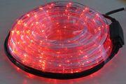 Roter LED Lichterschlauch für innen und außen