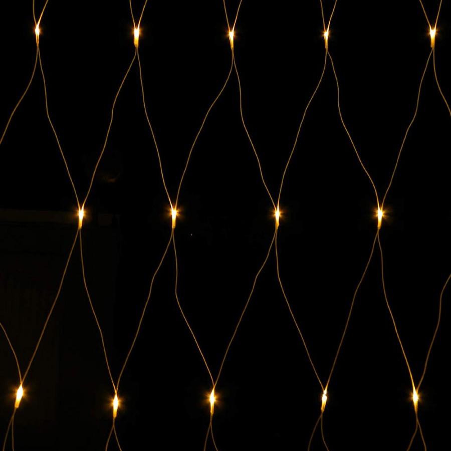 LED Lichternetz mit 5 m Zuleitung