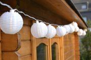 LED Lampionlichterkette
