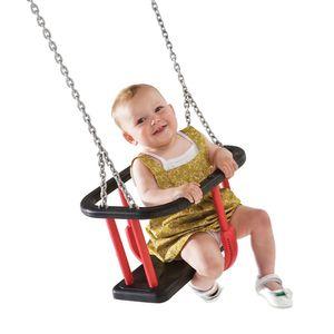 Babyschaukelsitz mit Kette EN 1176 für öffentlicher Bereich