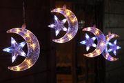 LED Halbmonde und Sterne